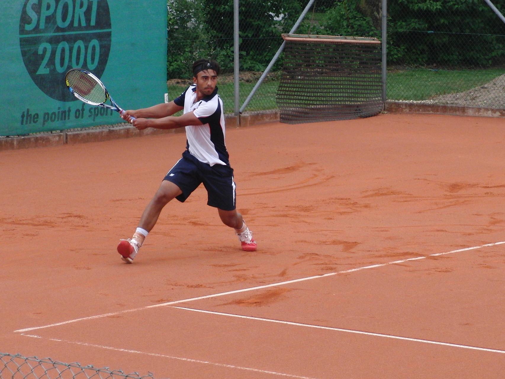 Slideshow Turnierzweiter 2014 - Marc Sieber (Bremerhavener Tennisverein v. 1905)