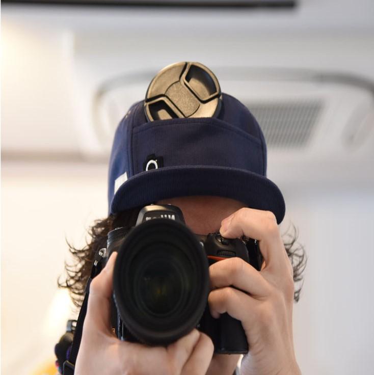 カメラ帽子
