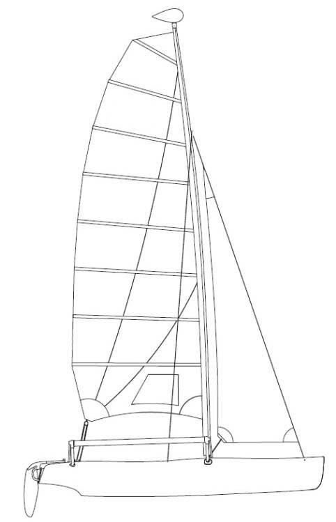 hobie getaway sails