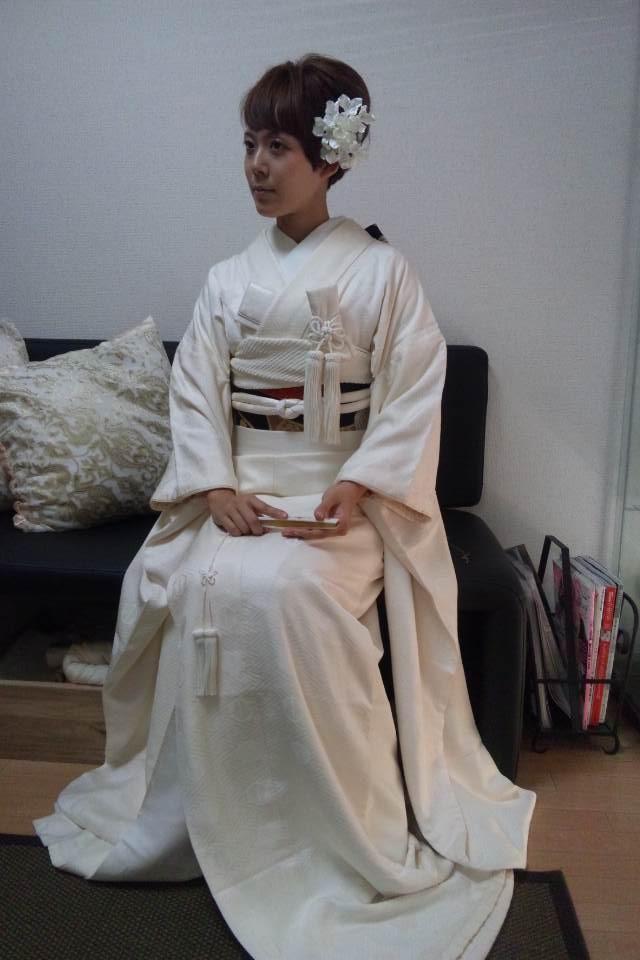花嫁コース8週目講習風景