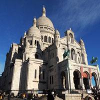 Visita guida in italiano della collina di Montmartre