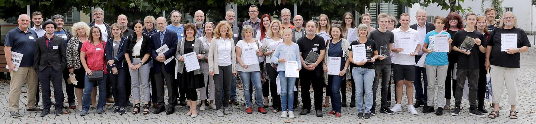 Alle anwesenden Preisträger - Foto: Christian Scholz