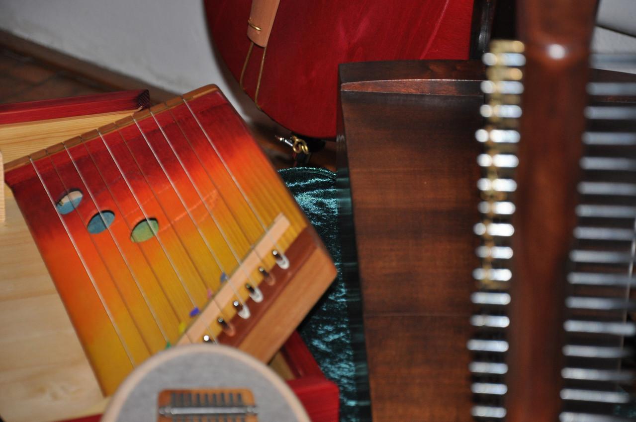 allerlei Instrumente ...