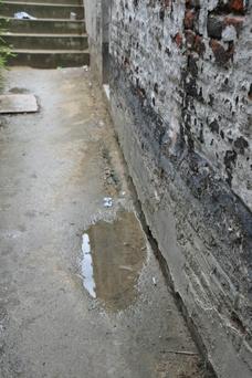 Etat du mur avant traitement