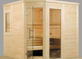 Saunabau, Sauna, Finnische Sauna, Bio Sauna, Sanarium, Massivholzsauna