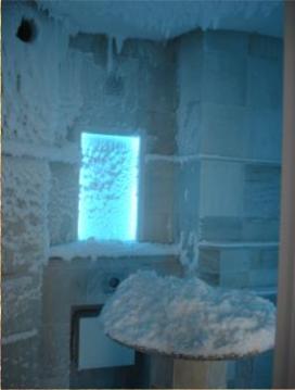 Schneekabine