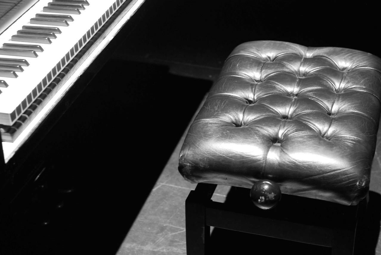 Les leçons de jazz d'Antoine Hervé, avant les balances