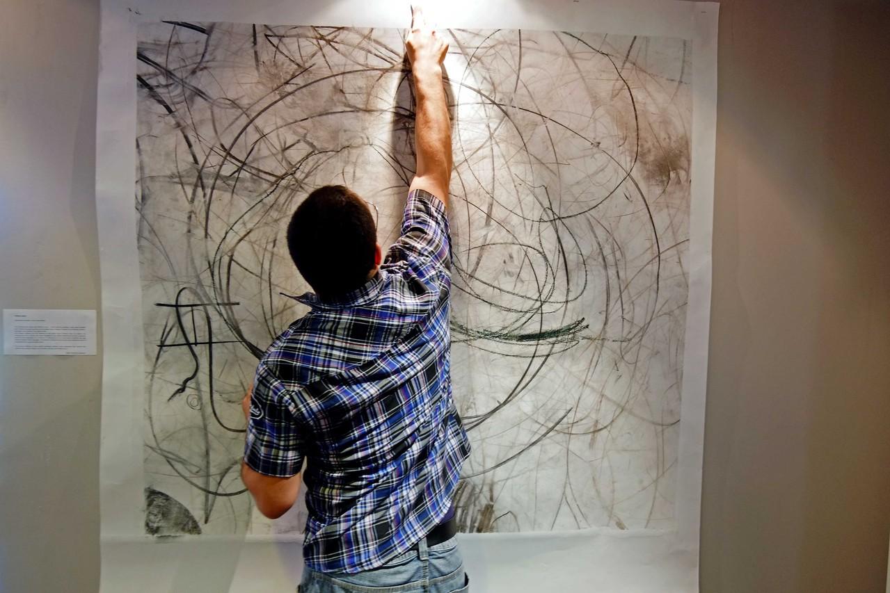 Entracte, soirée de présentation de la saison 2012 / 2013, Carlos, régisseur action culturelle