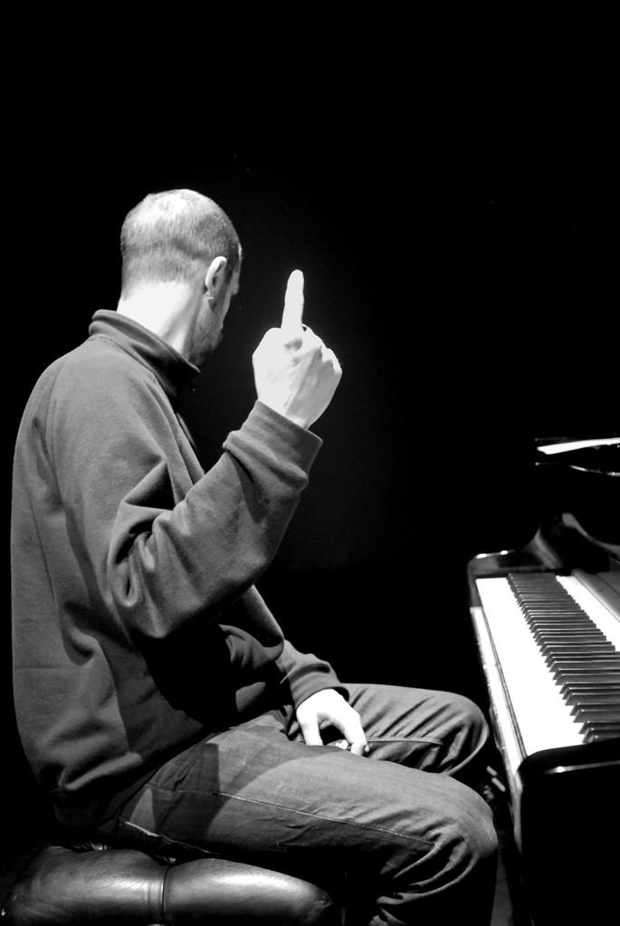 Les leçons de jazz d'Antoine Hervé, réglage de lumières