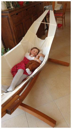 Babyhaengematte Wombagee fuer Babys und Kleinkinder