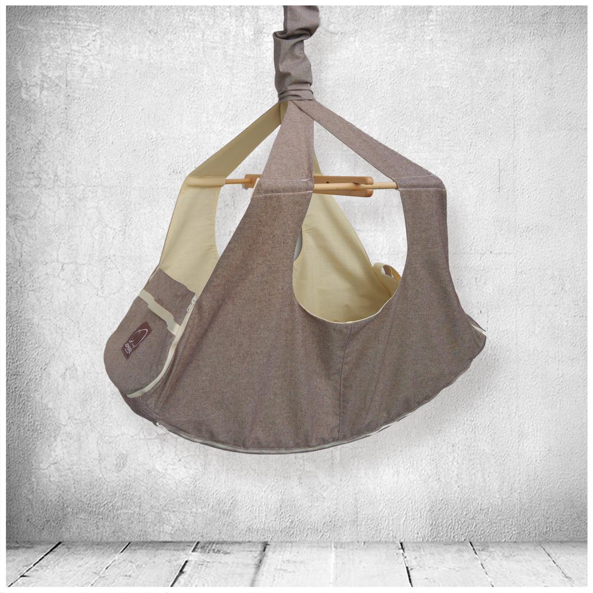 Qualitaetsgepruefte Materialien der Baby-Haengematte