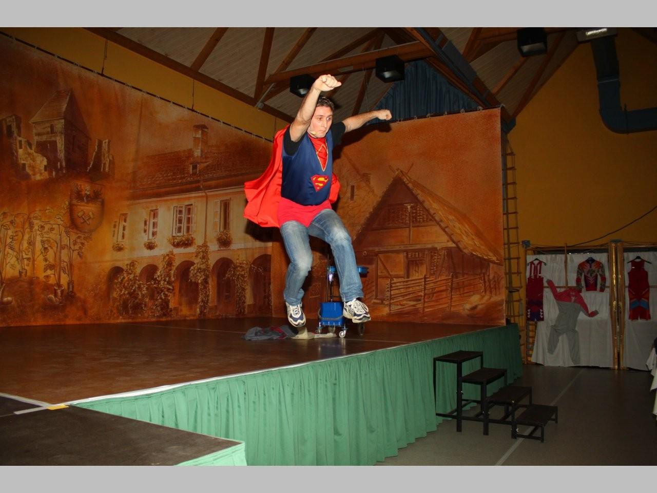 Superman im Einsatz