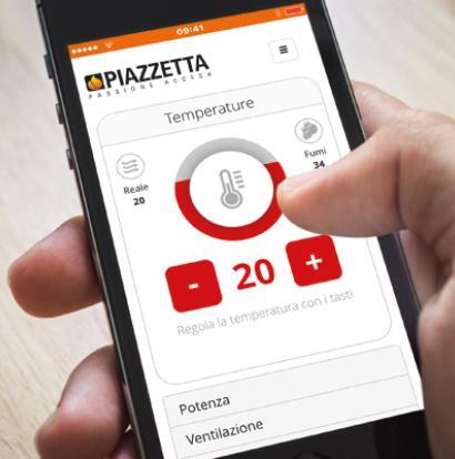 PIAZZETTA-APP für Fernsteuerung