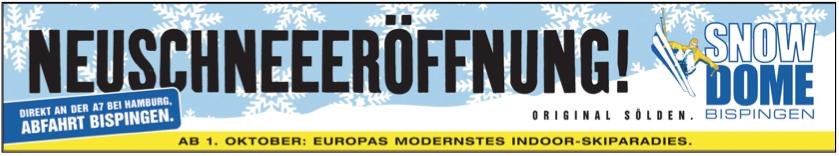 Banner für Autobahnbrücken und Online.