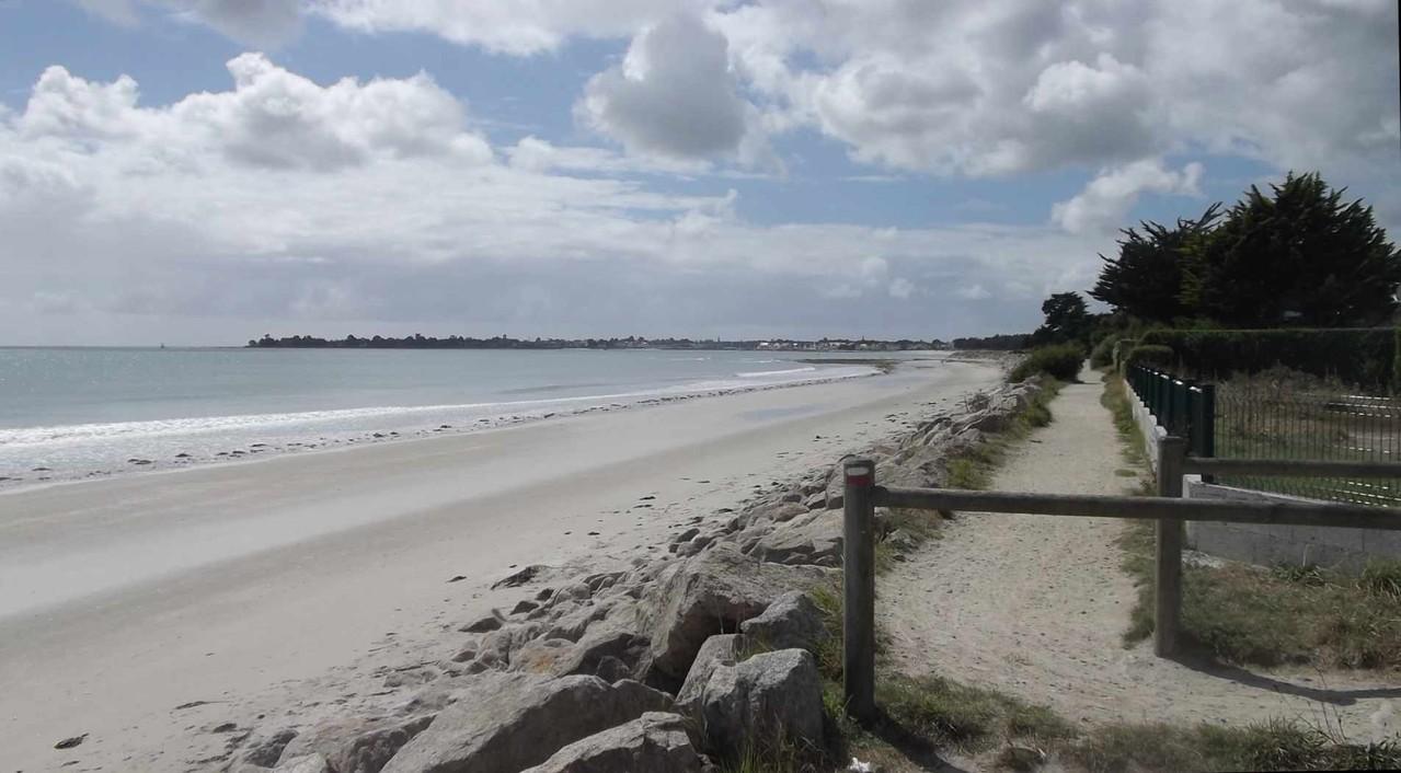 Les plages : de Ste Marine à l'Ile Tudy par le sentier côtier (GR34)