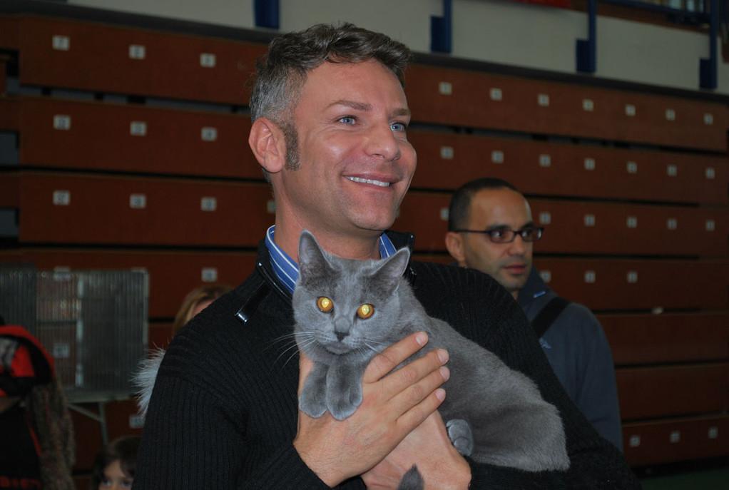 Sergio con Fragola