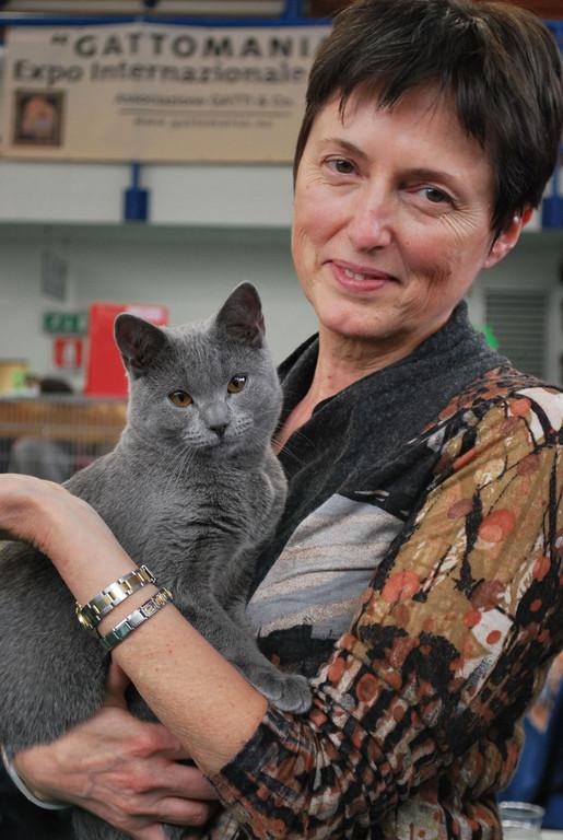 Manuela con Rhonda