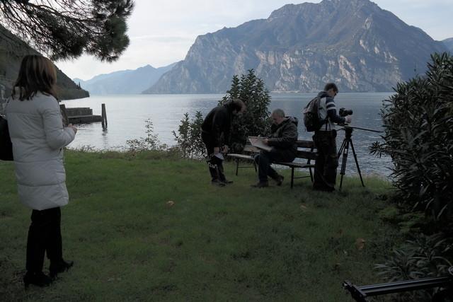 Preparazione per intervista al regista Mauro Vittorio Quattrina