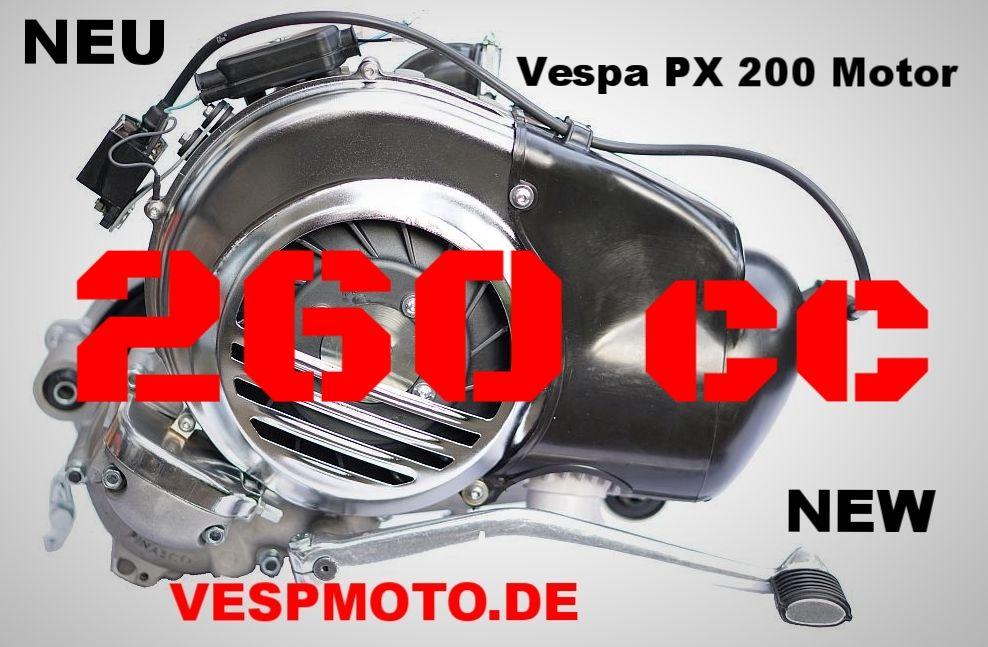 motor quattrini m 260 vespa px 200 motor by vespmoto. Black Bedroom Furniture Sets. Home Design Ideas