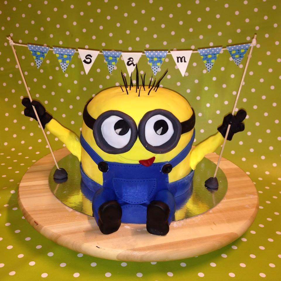 Bananaaaaa...Minions-Torte (Schoko-Preiselbeer)
