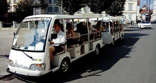 Veranstaltungen elektroshuttle shuttlebus vermietung verleih BUMMELZUG WEGEBAHN Bimmelbahn bummelzug