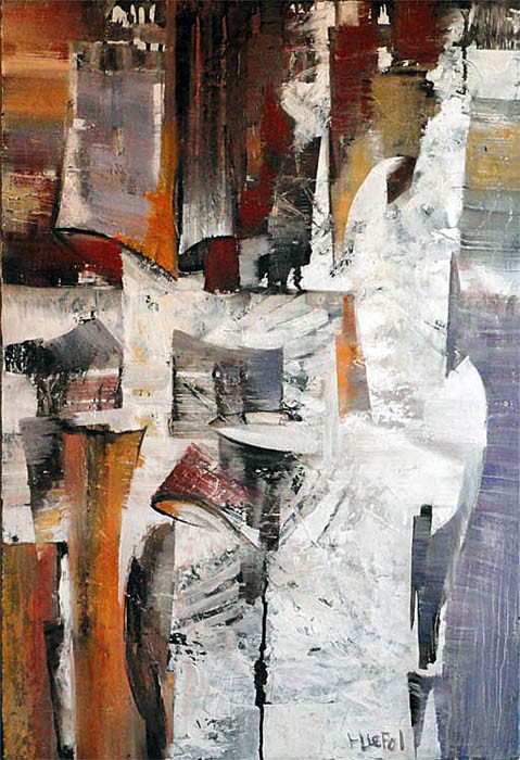 ECORCES 15 huile/toile 50x73 indisponible