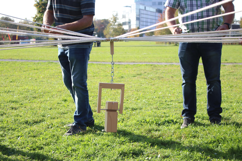 Team Action als Teambuilding im Rahmen eines Betriebsausflugs oder Teamtraining