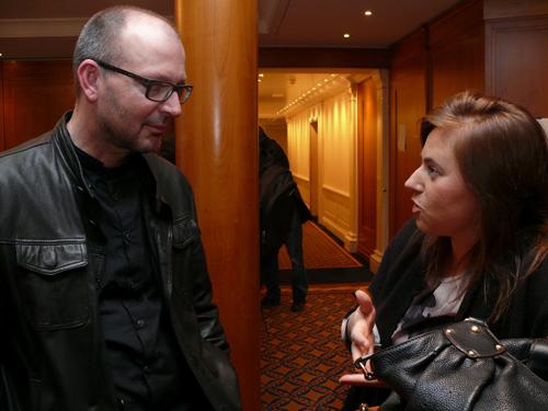 """Christian Hesse im Gespräch mit Judit Polgar, """"der besten Schachspielerin aller Zeiten im bekannten Teil des Universums"""""""