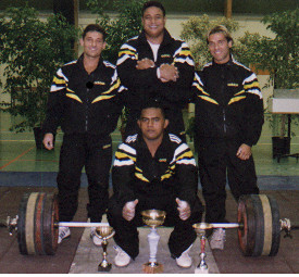 Fabrice, Kiko, Lucas et Apolo