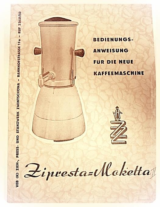 Moketta VEB (k) ZIEH-,PRESS-und STANZWERK ZWINTSCHÖNA-1965