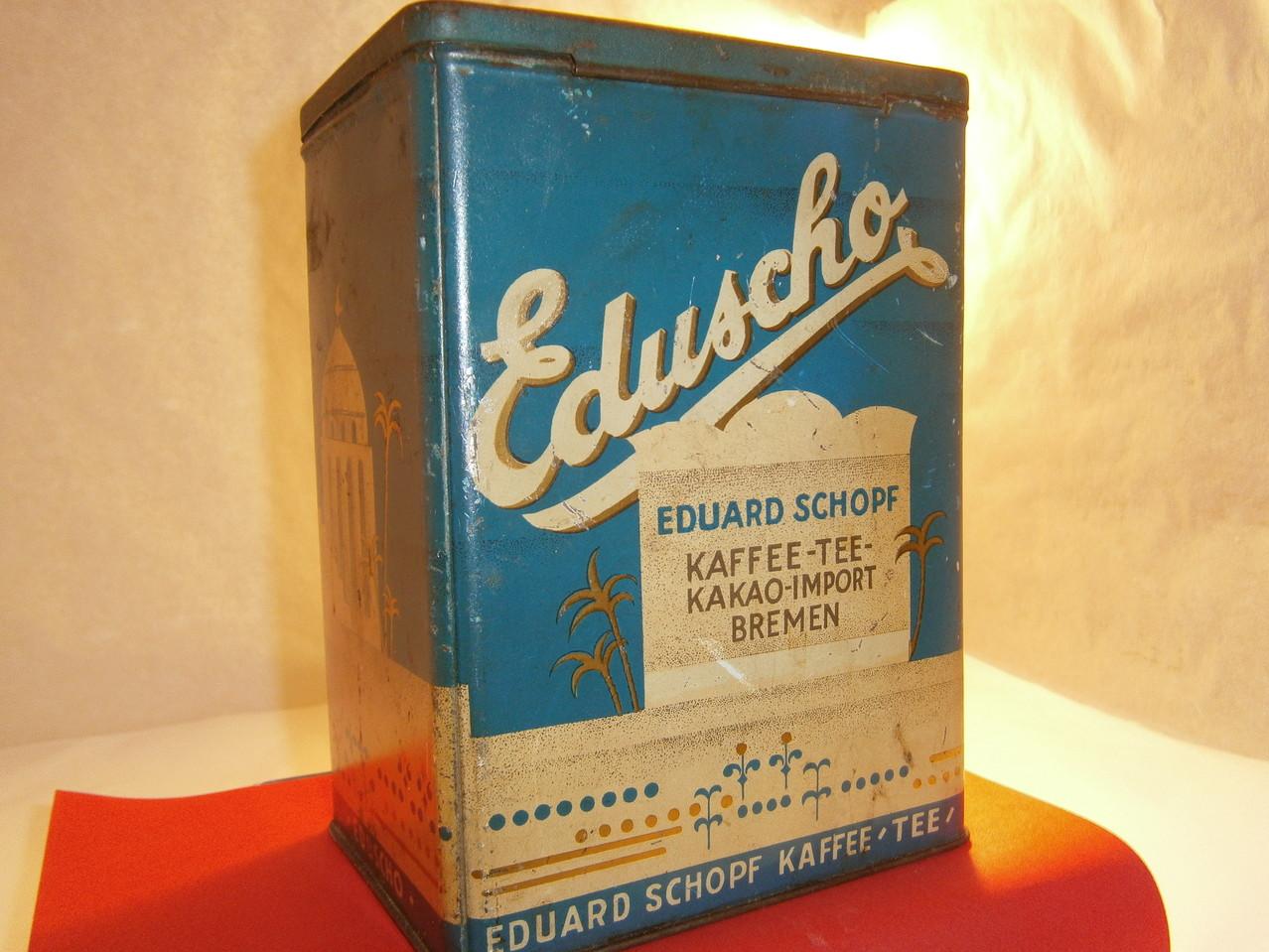Eduscho Kaffeedose ab 1950