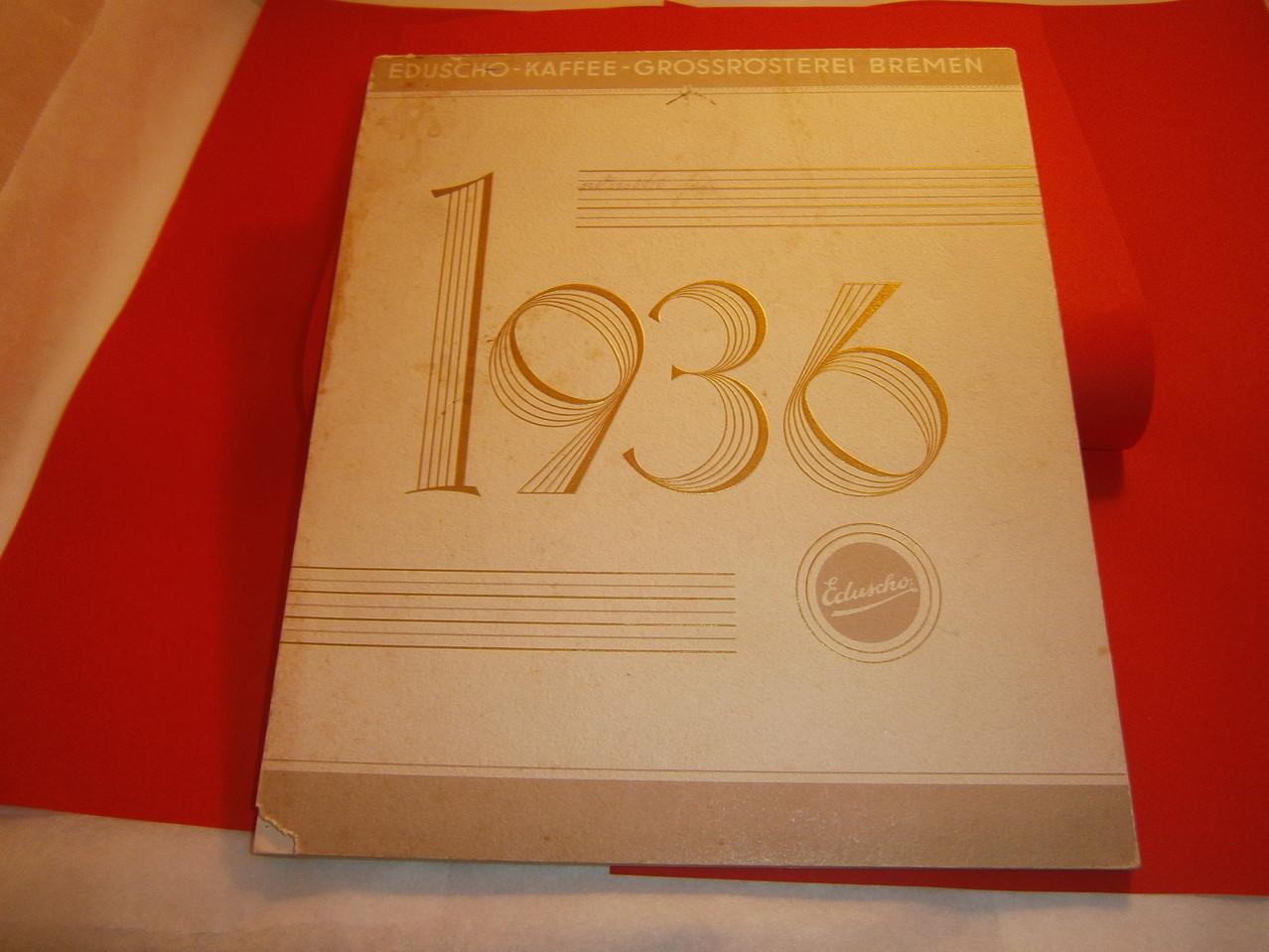 Eduscho Kunstkalender 1936