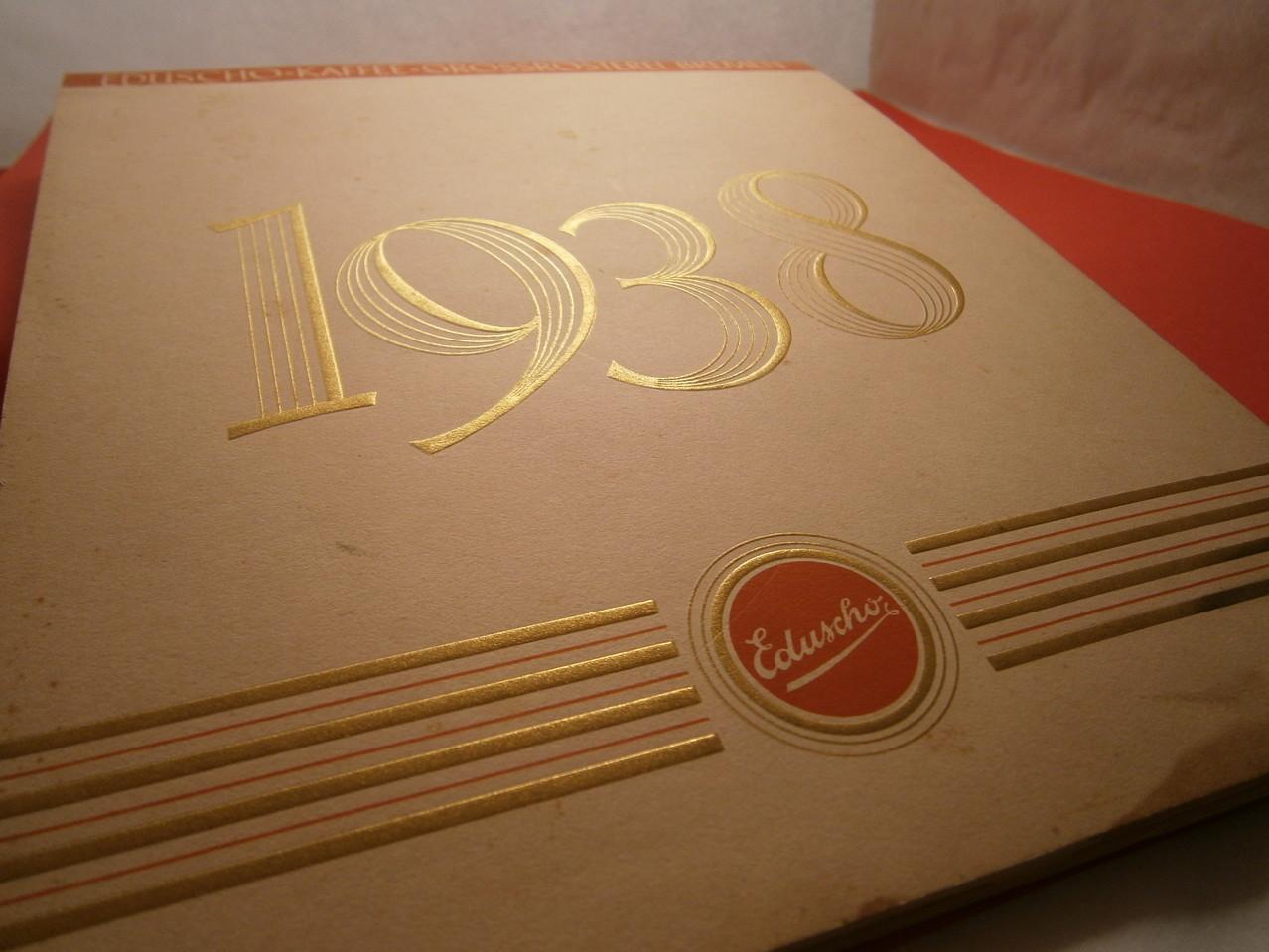 Eduscho Kunstkalender 1938