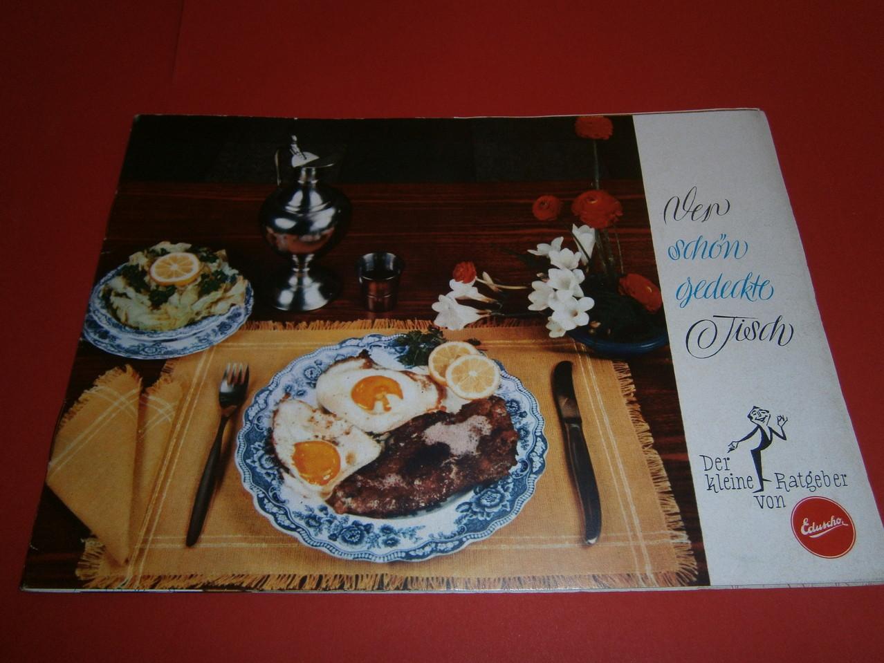 Eduscho Der schön gedeckte Tisch 1960