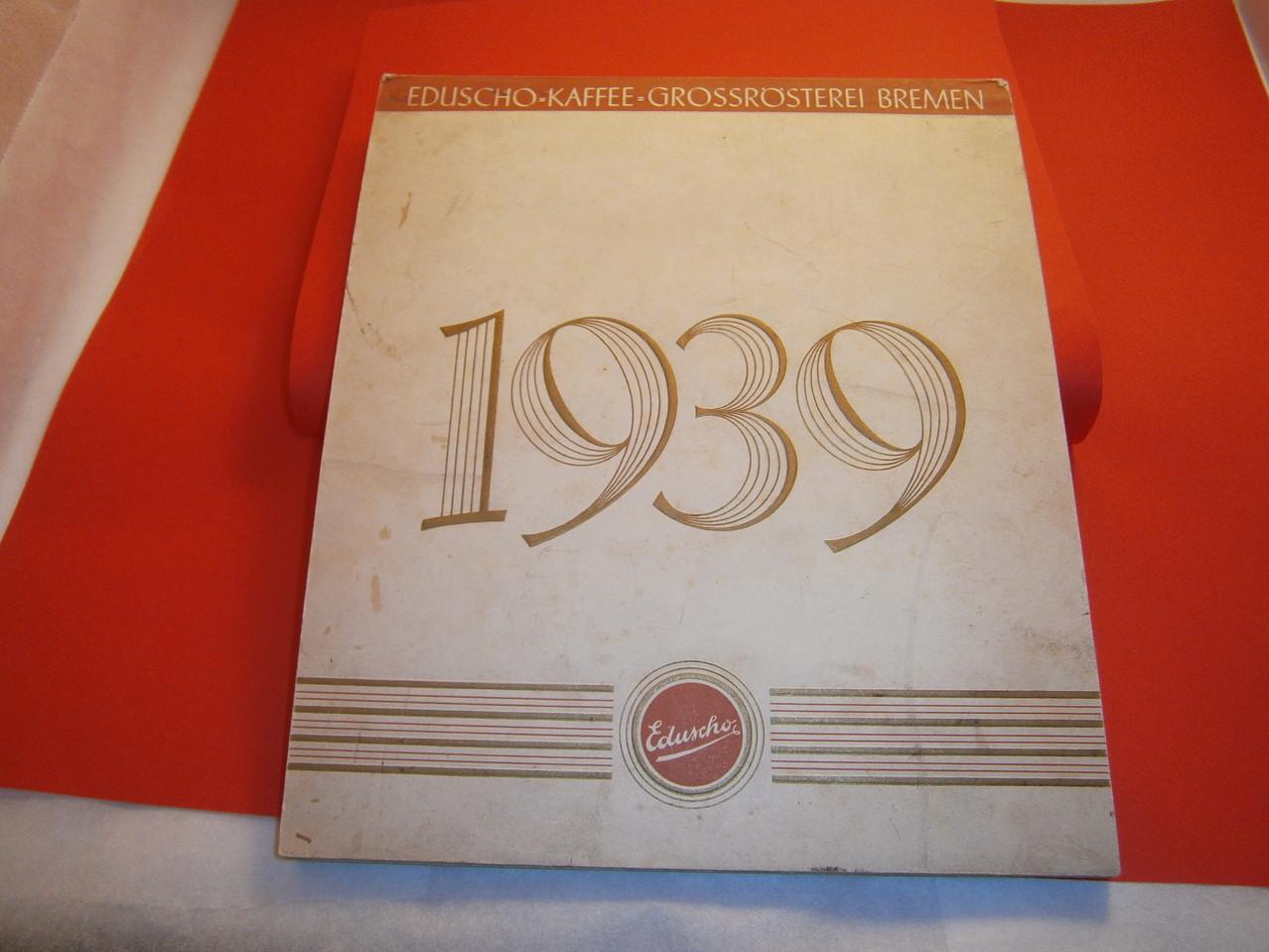 Eduscho Kunstkalender 1939