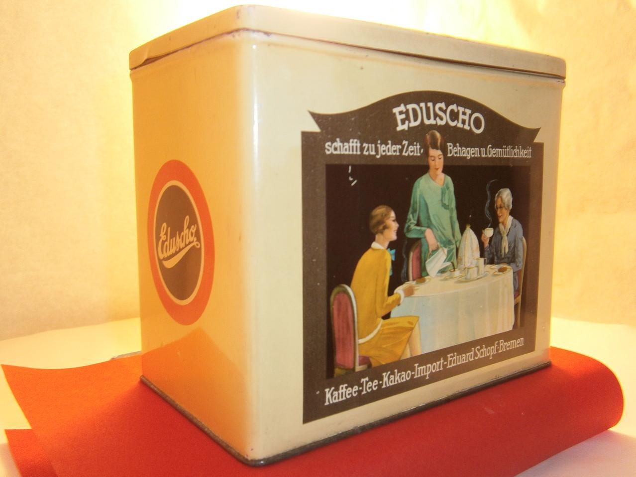 Eduscho Kaffeedose ab 1925