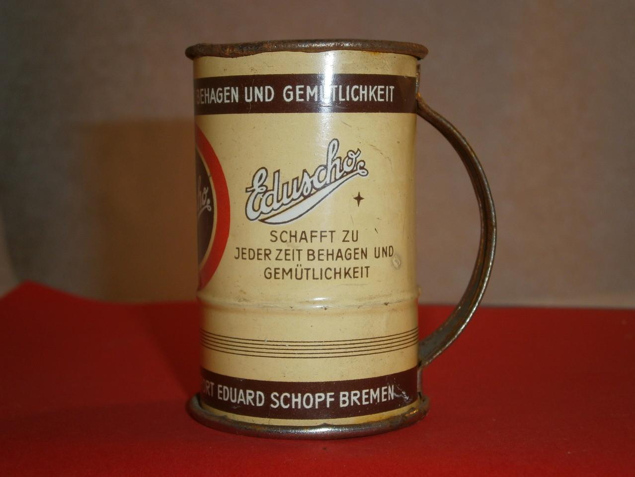 Eduscho Kaffeelot um 1930