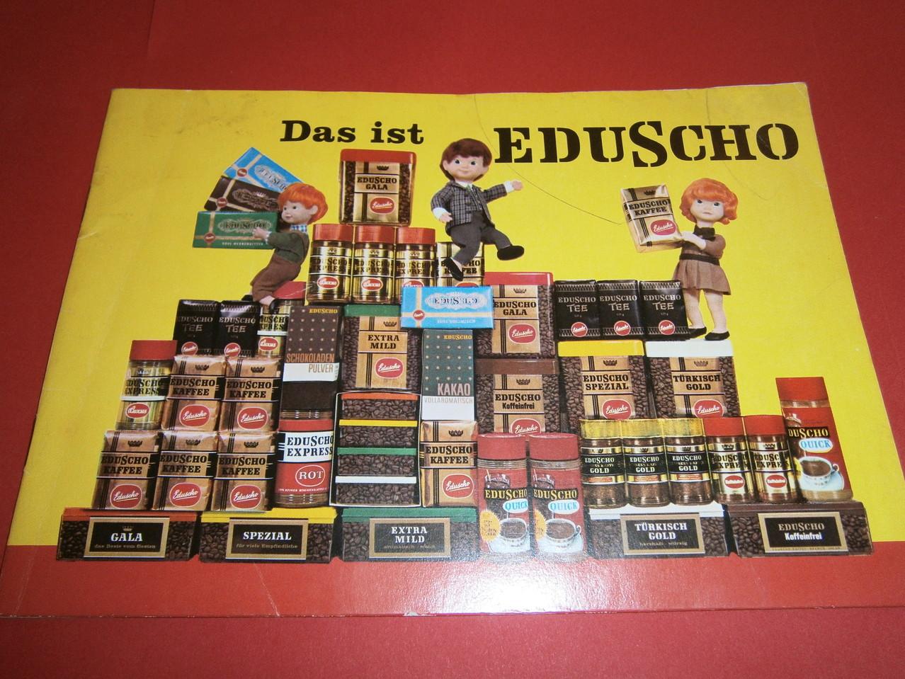 Das ist Eduscho 1960