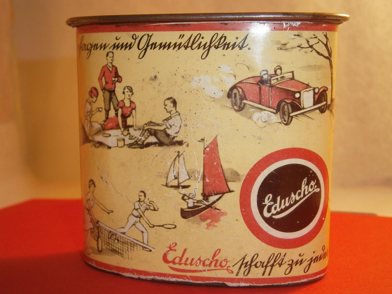 Eduscho Kaffeedose ab 1930