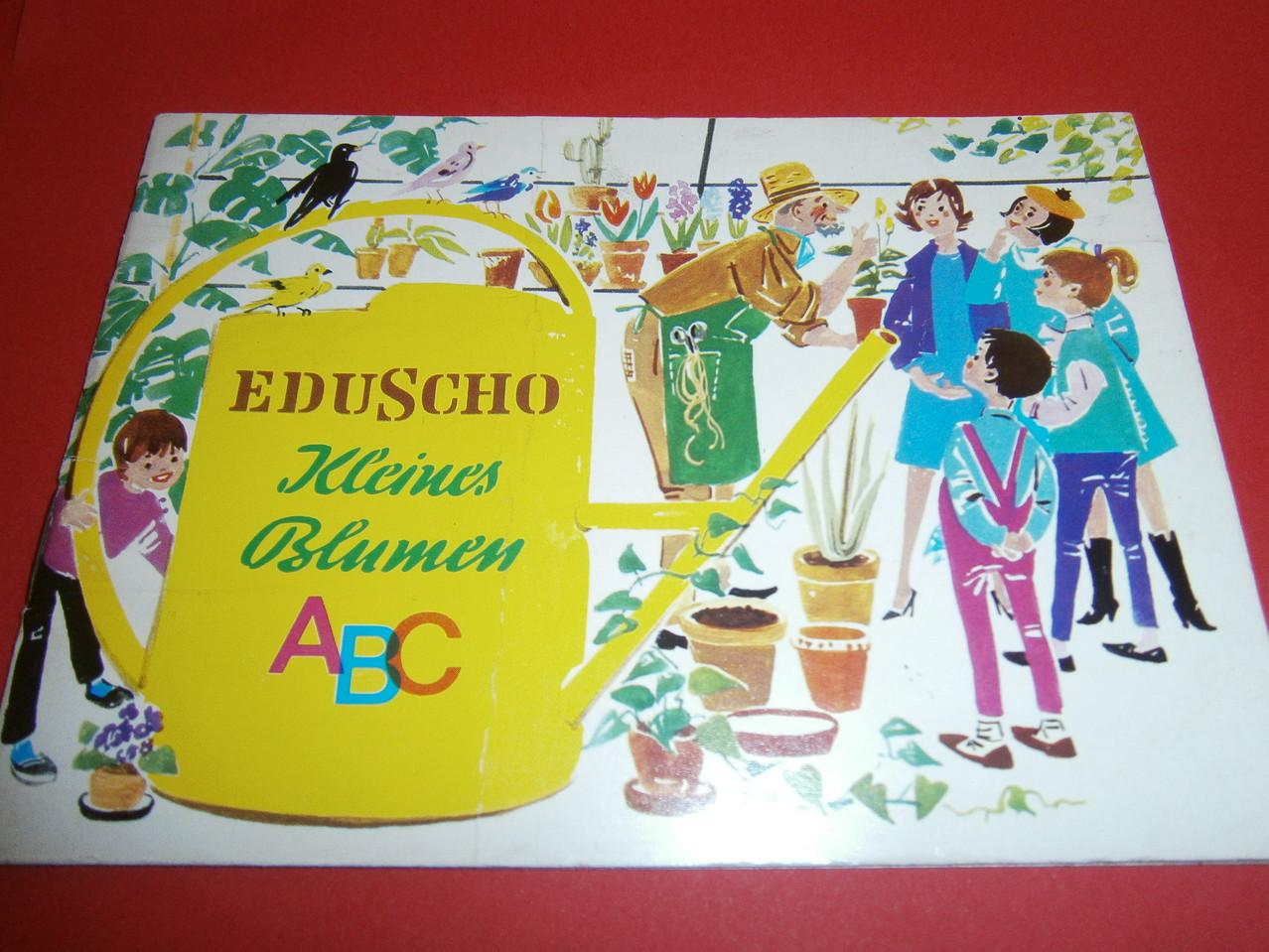 Eduscho Kleines Blumen ABC 1970