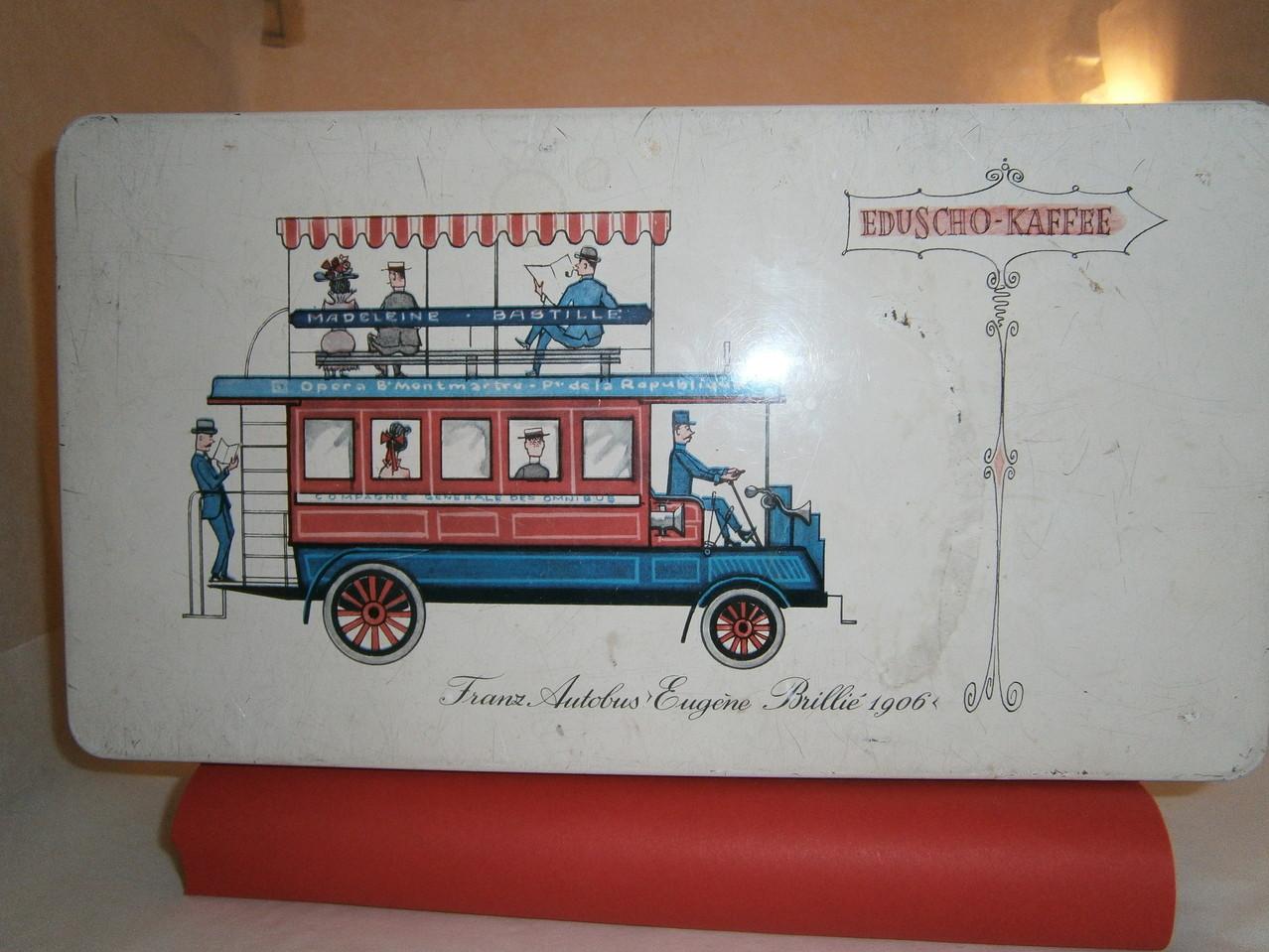 Eduscho Kaffeedose ab 1970