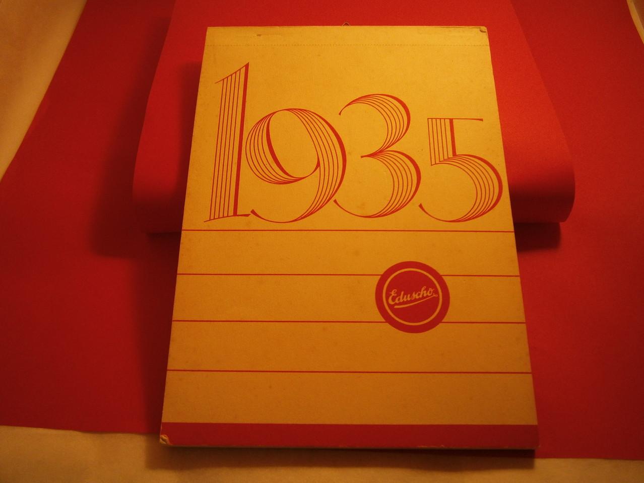 Eduscho Kunstkalender 1935