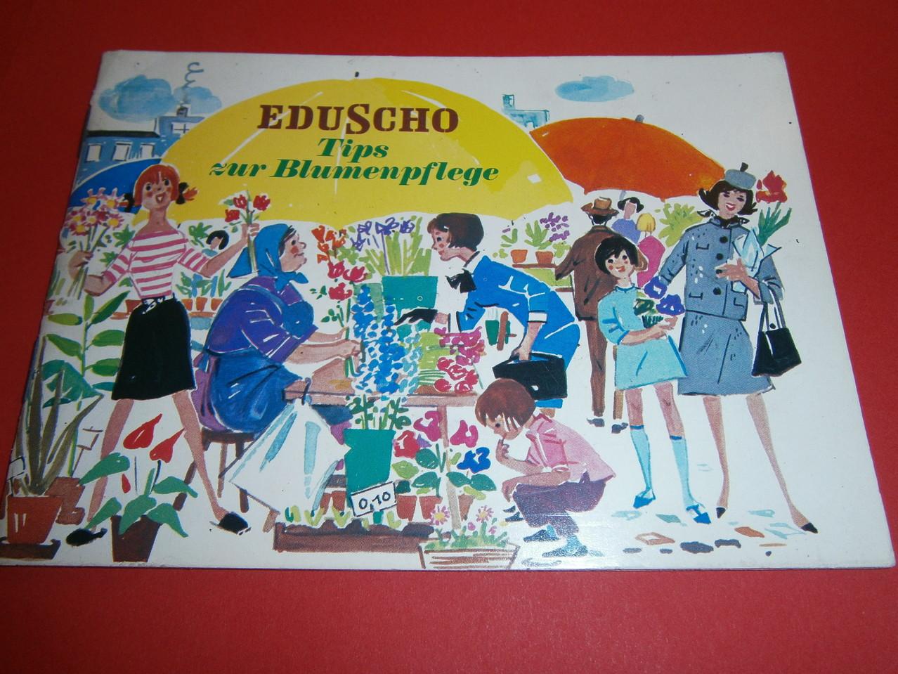Eduscho Tips zur Blumenpflege 1970