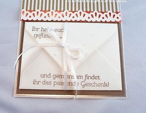 Den Umschlag habe ich mit dem Envelope Punchboard gemacht.