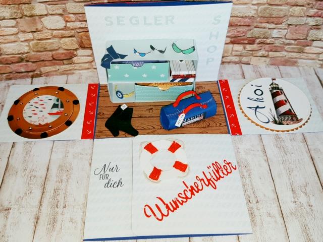 #stampinup #stempelliese.com #segelshop #segelzubehör #segelschiff #einkaufsgutschein #DIY #geldgeschenk