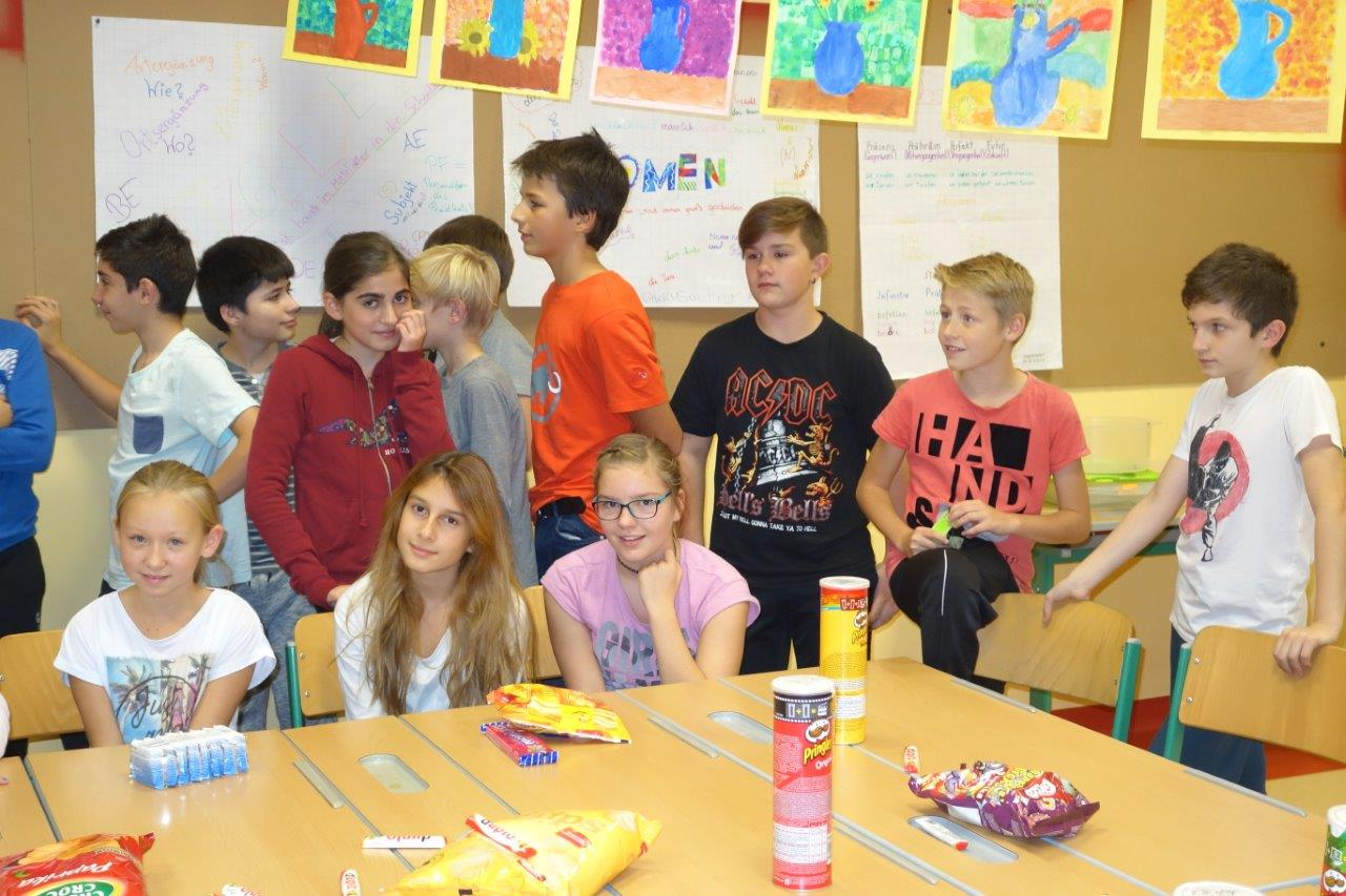 Lesenacht der 2a und 2b Klasse mit Radl Karin, Kapeller Gerd und Koller Patricia, 20/21.10.2016