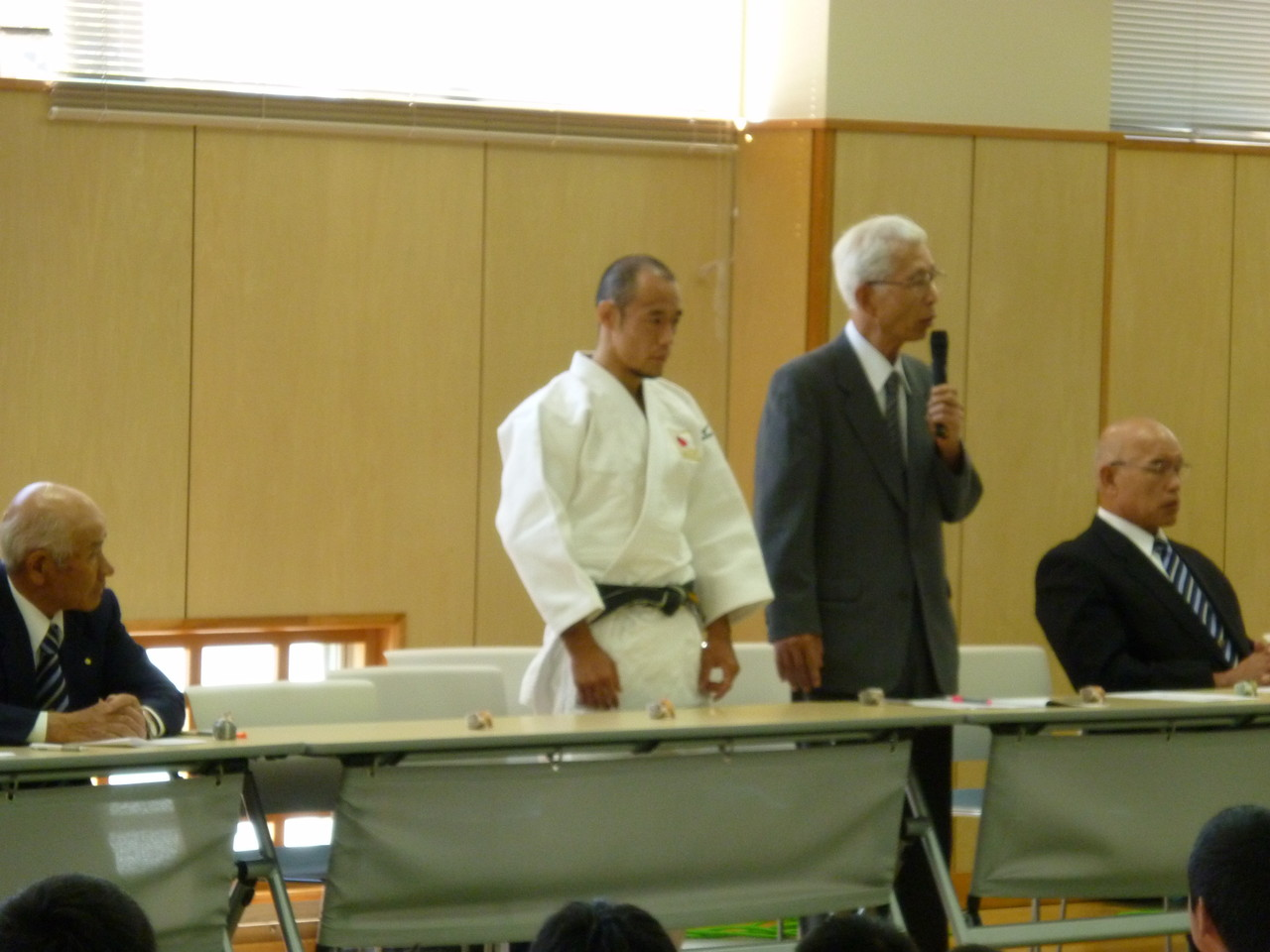 ロンドンパラリンピック柔道男子66㎏級代表 広瀬誠選手