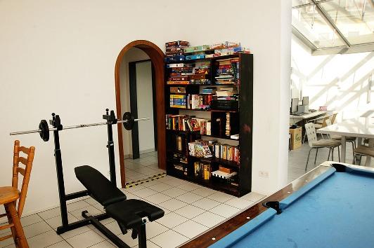 Sport- und Leseangebot