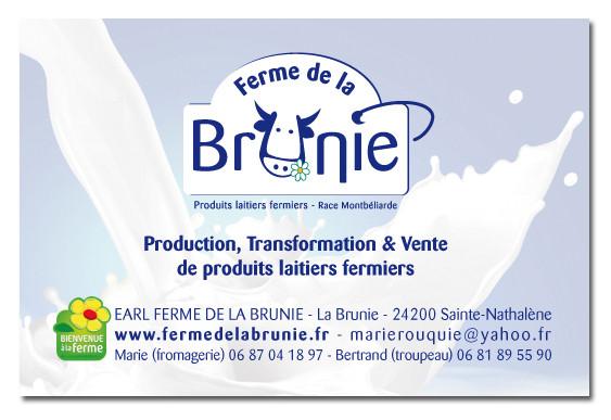 Carte De Visite La Ferme Brunie