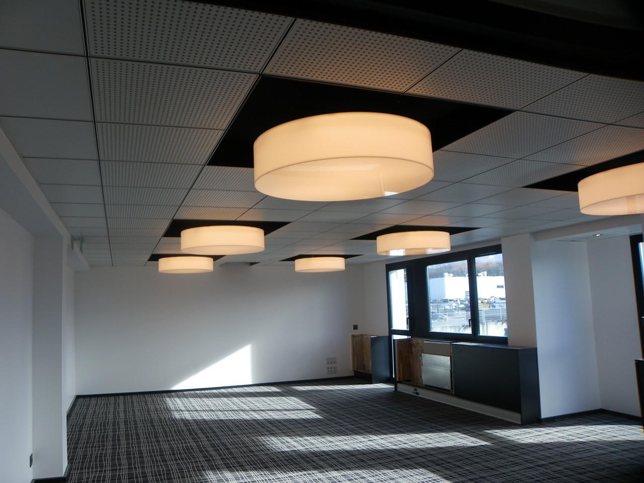 plafond acoustique et décoratif